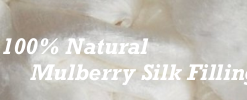 100 Percent Natural Mulberry Silk Filling