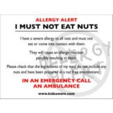 Allergy Translation Cards