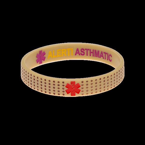 Asthma Bracelet Reversible Medical