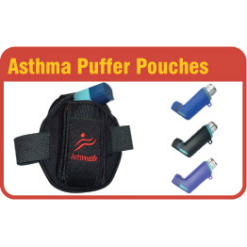 Asthma Inhaler Puffer Pouch Case Holder
