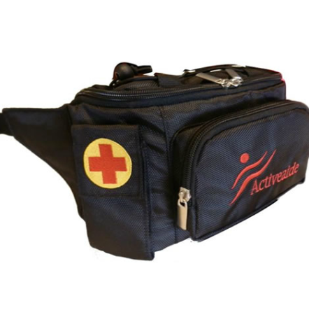 Black Insulated Medical Bag to suit Epipen Anapen or Jext
