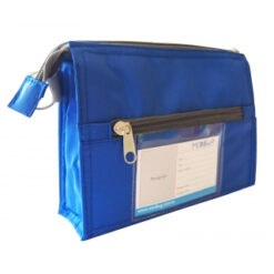 Blue Pouch Back ID Card