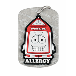 Dairy Allergy Dog Tag
