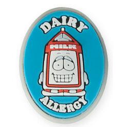 Dairy Allergy Medical Charm