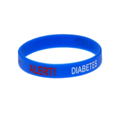 Diabetes Alert Wristbands