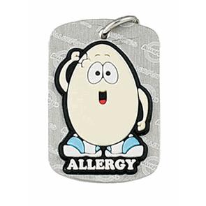 Egg Allergy Dog Tag