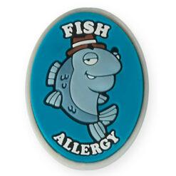 fish allergy bracelet