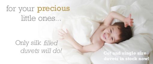 For precious KIds Silk Bedding