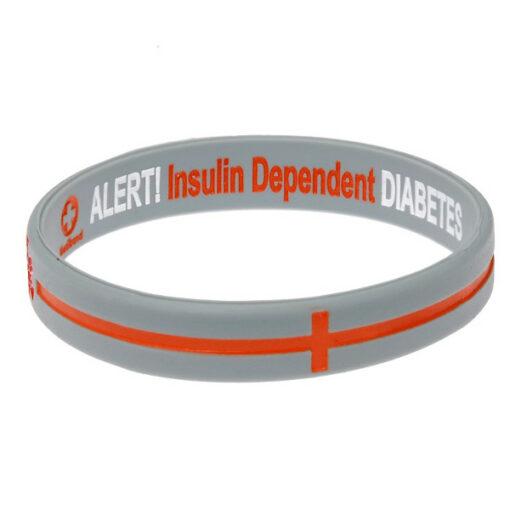 Diabetes Alert Bracelet