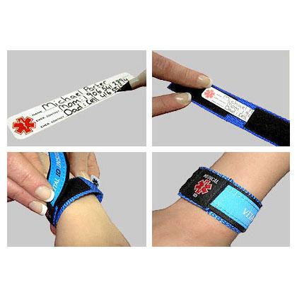 writeon vital id wristband