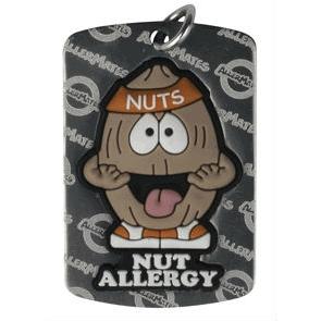 Nut Allergy Dog Tag Large