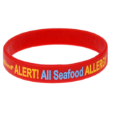 Seafood Allergy Wristband