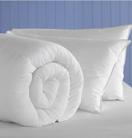 Silk-filled Duvet for single bed