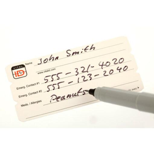 Vital ID Card Insert