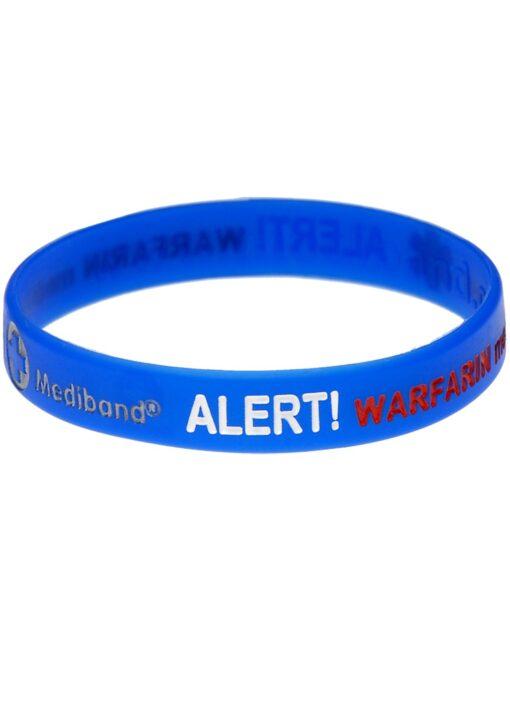WarfarinAlert Mediband bracelet