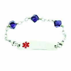 pretty medical alert bracelets