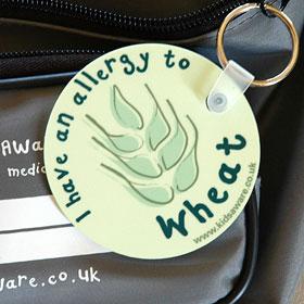 Wheat Allergy Keyring