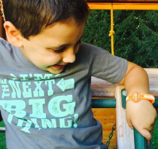 Peanut Allergy Bracelet for Toddlers