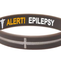 Epilepsy Wristband Reversible grey