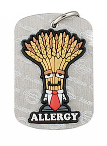 Wheat Allergy Dog Tag Allermates