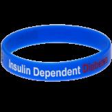 blue diabetic bracelets
