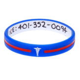 custom medical ID bracelets
