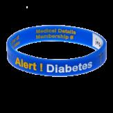 Diabetes Alert Write On Wristband