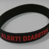 Diabetes Wristband Black