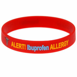 Ibuprofen Allergy Alert Wristband