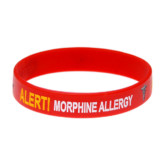 Morphine Allergy Wristband