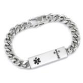 heavy chain medical ID bracelet