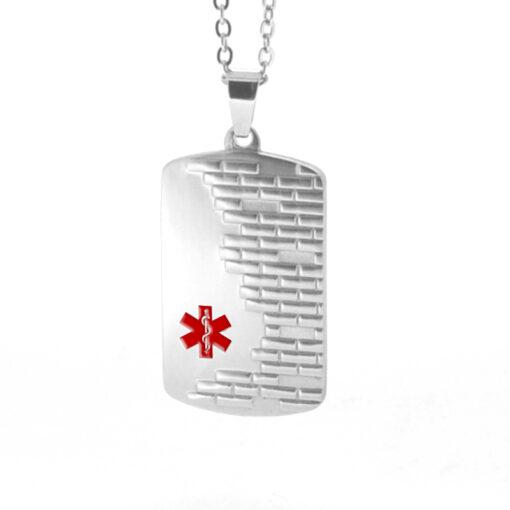 medical alert id necklace