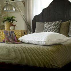 silk filled pillow