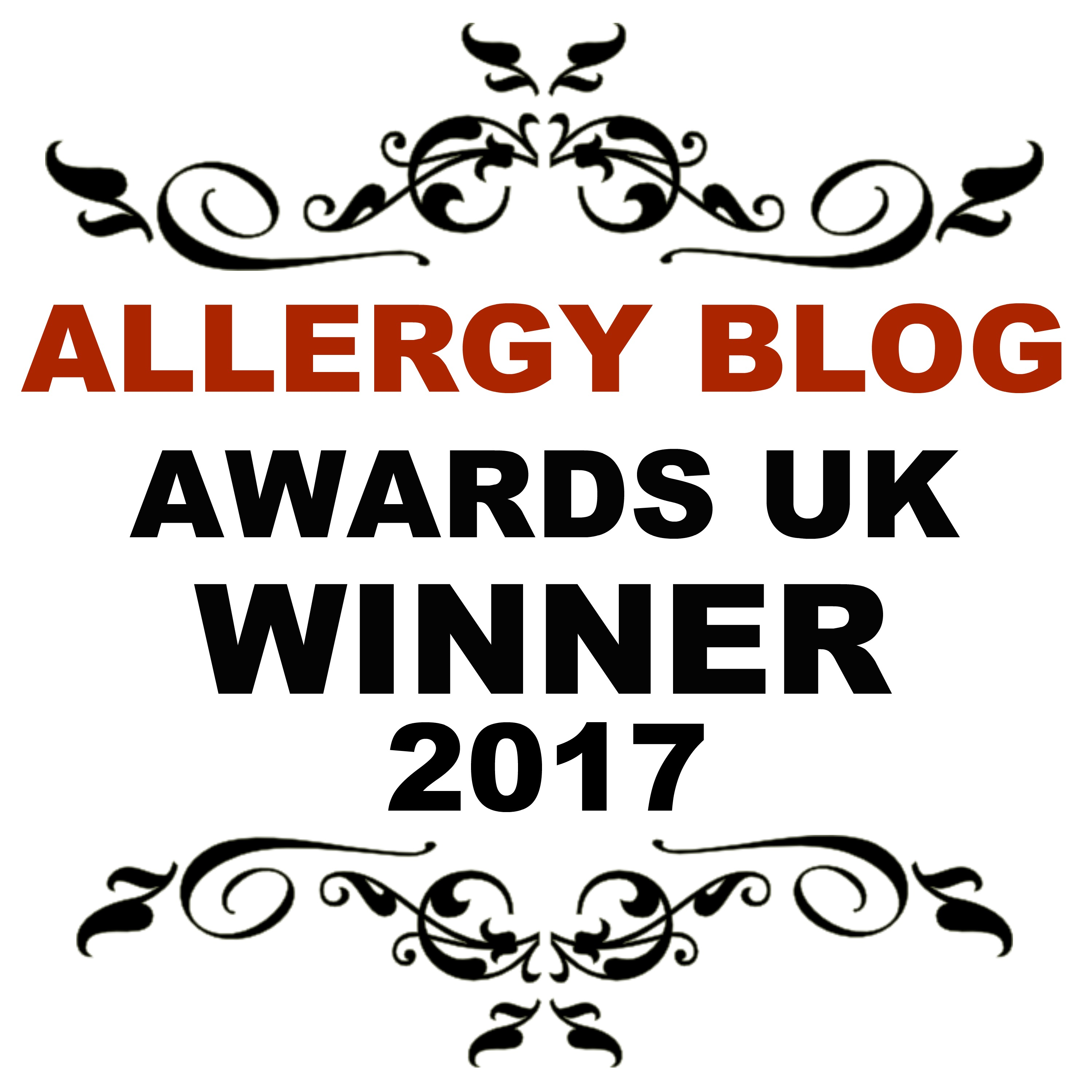 Allergy Blog Award Winner