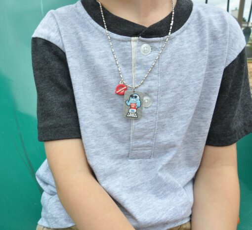 asthma alert necklace