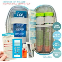 Kids Case for EpiPen auto-injectors - Teal