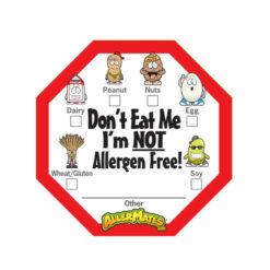 Allergen Alert Labels