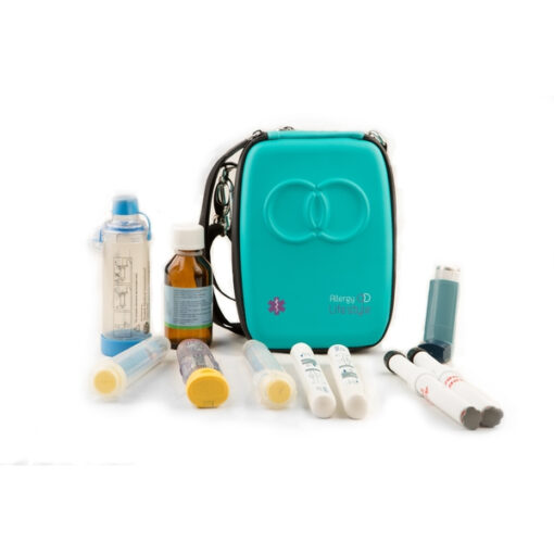 EpiPen Bag - Insulated EpiPen Case with Guides for Anaphylaxis