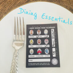Allergy Chef Cards