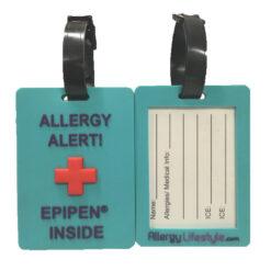 Allergy & Medical Keychain