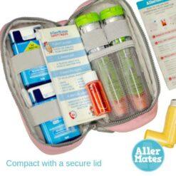 Travel Size Empty Medicine Bottle 3 pack