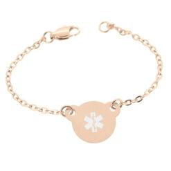 Rose Gold Light Medical Bracelet
