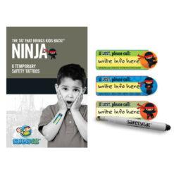 Child Safety Tattoo - Ninja Pack