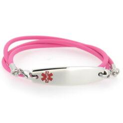 Pink Medical ID Bracelet