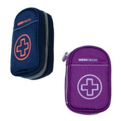 purple and blue Inhaler Case