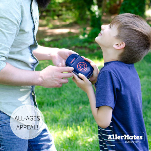 Navy Inhaler Case boy