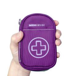 Purple Inhaler Case front