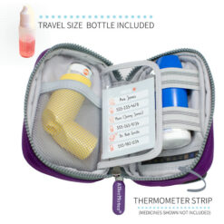 Purple Inhaler Case inside