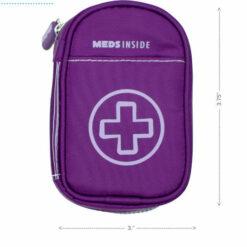 Purple Inhaler Case size