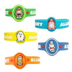 Kids Allergy Wristbands